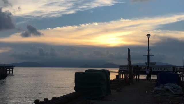 金色的太阳与风与海,南丫岛一日游