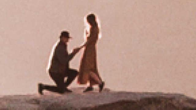 摄影师优胜美地意外拍下完美求婚照