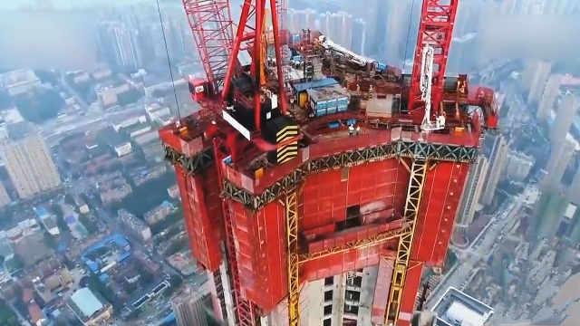 中国工程之最,高楼建设神器!