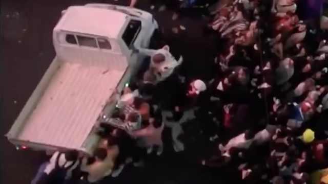 东京万圣节狂欢,打架色狼事故不断