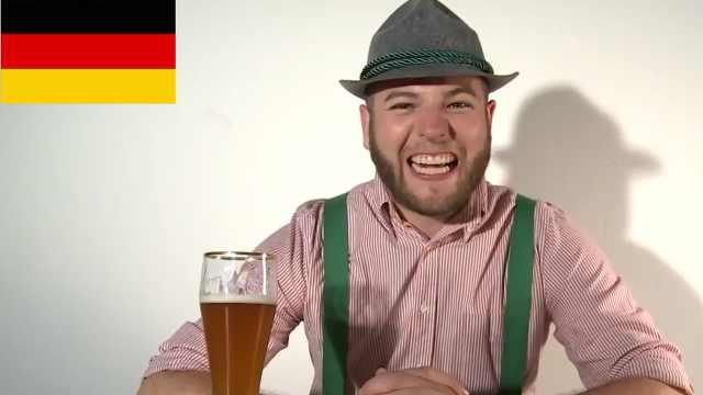 讲德语凶死你!德语与其他语言对比