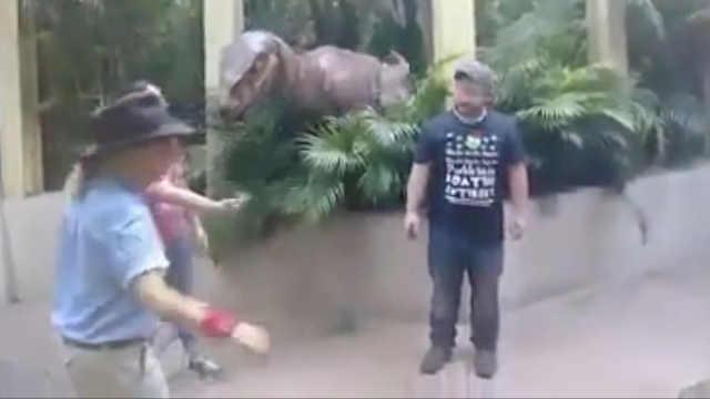 有那么一瞬间,你会以为恐龙是真的