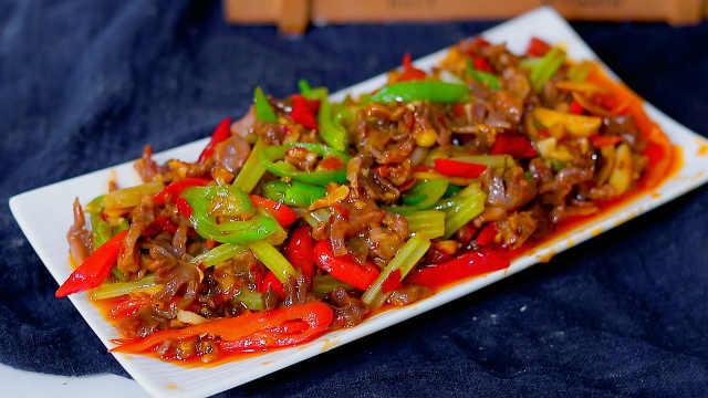 泡椒鸡胗这样做,吃三碗饭不嫌多