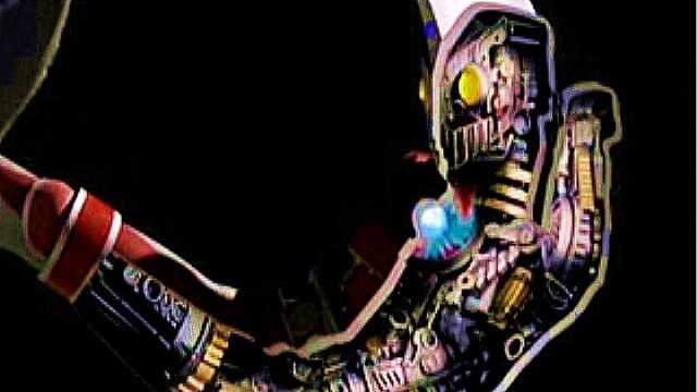 机械奥特曼身体里都是齿轮?