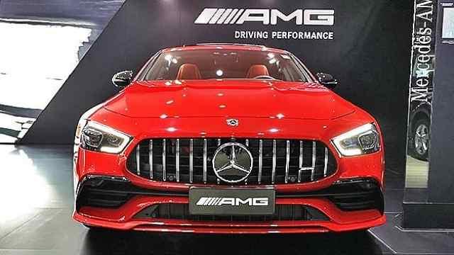 广州车展奔驰AMG GT四门版亮相
