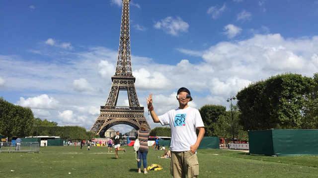 埃菲尔铁塔的打灯景观受版权保护?