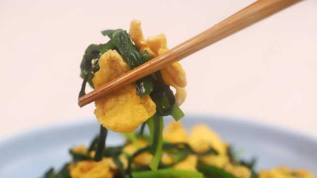 韭菜炒蛋这样做,味道超鲜美!