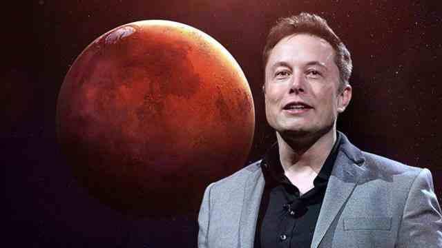 马斯克称准备永久移民火星