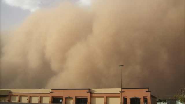 自然科普小百科之沙尘暴