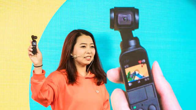 大疆OSMO口袋云台相机发布