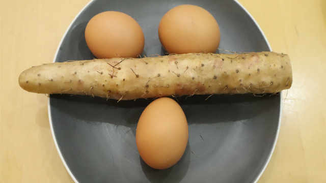 山药鸡蛋饼,营养又美味