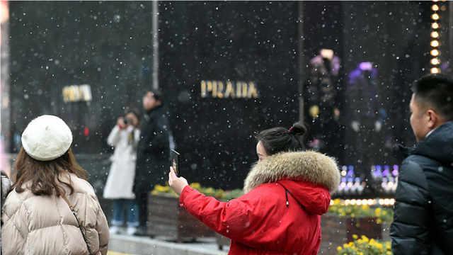 雪杀了个回马枪,南京又能玩雪了?