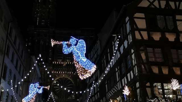 欧洲最古老的斯特拉斯堡圣诞集市