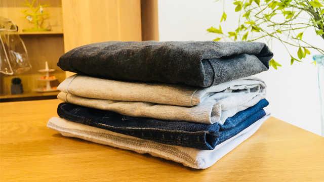 叠裤子的小技巧,收藏