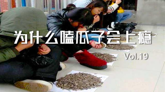 为什么中国人嗑瓜子会上瘾?