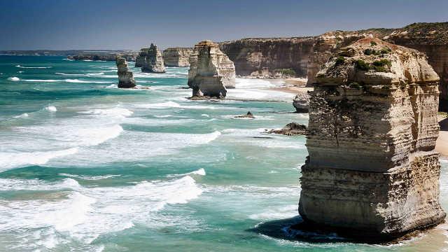 澳洲最美岩石景观,有2000万年历史