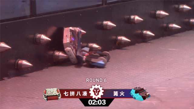 举升类的格斗机器人用这一招KO对手