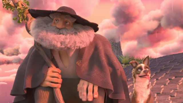 神仙在天上剪羊毛,人间就开始下雨