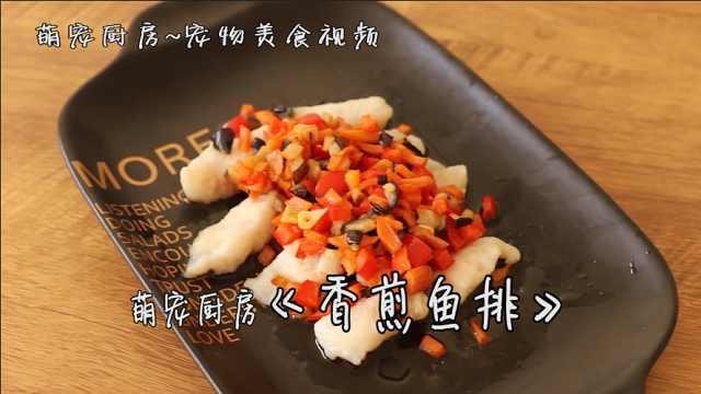 萌宠厨房宠物营养DIY美食香煎鱼排