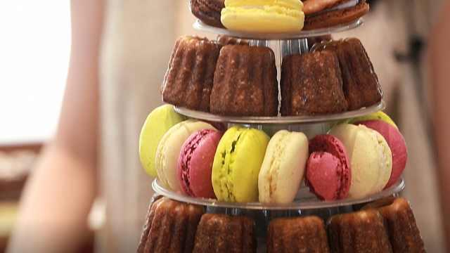 色彩斑斓的法国网红甜品店:卡娜蕾
