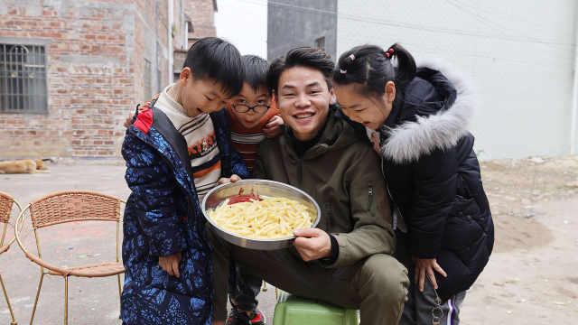 小朋友都喜欢的薯条!