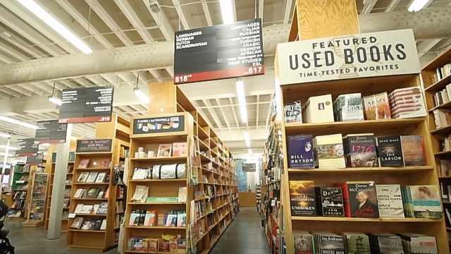 世界十佳书店之:波特兰鲍威尔书店