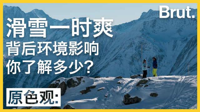 滑雪背后环境影响,你知道吗?