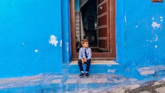 摩洛哥蓝色古城,治愈的上帝之城