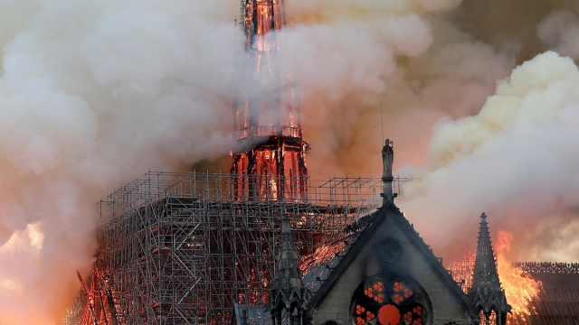 回顾着火前的巴黎圣母院,绝美震撼