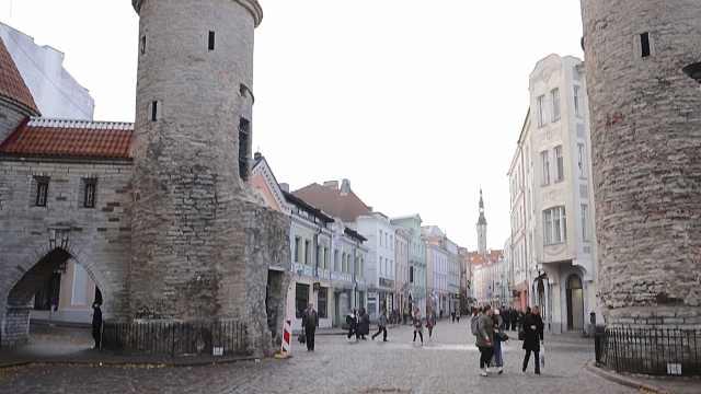 探秘爱沙尼亚塔林老城区