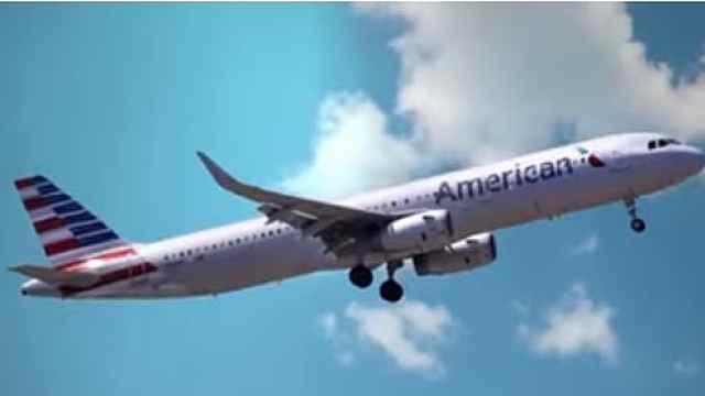 飞机差点坠毁纽约机场:起飞时失控