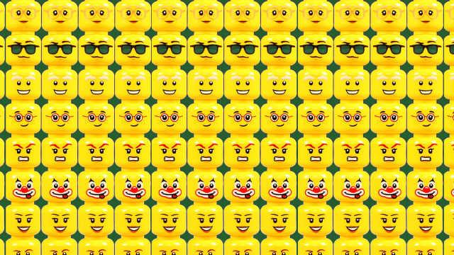 乐高玩具百变表情, 填充所有的屏幕