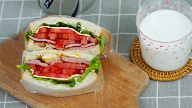 最经典的三明治做法