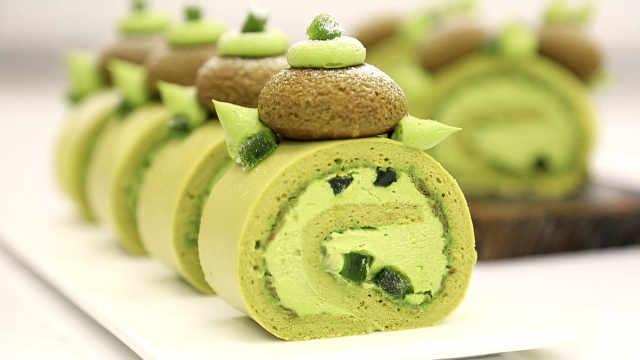 青柠泡芙蛋糕卷:做泡芙还是做蛋糕