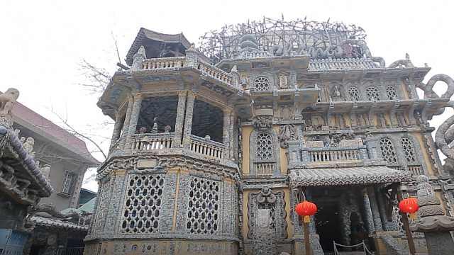 探访由七亿片瓷器组成的天津瓷房子