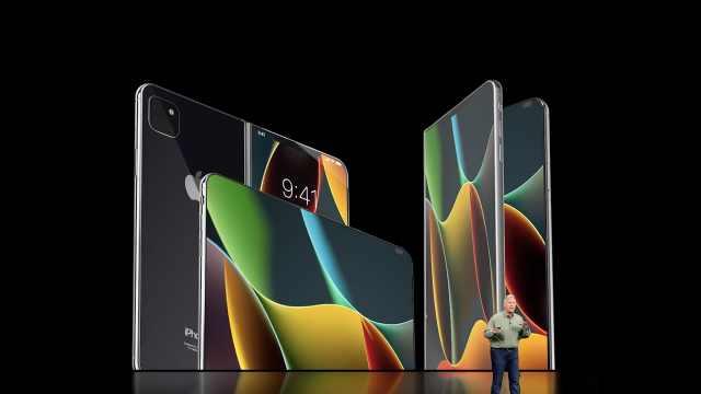苹果获可折叠屏幕专利可用于iPhone