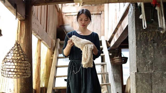 侗族女孩返乡创业