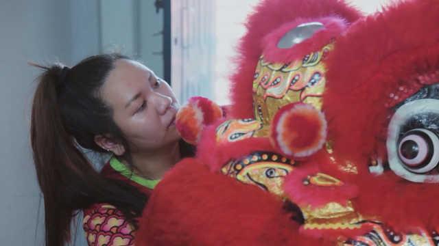 当传统舞狮文化遇上90后叛逆少女