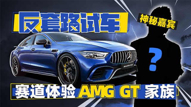 神秘嘉宾赛道体验AMG GT家族