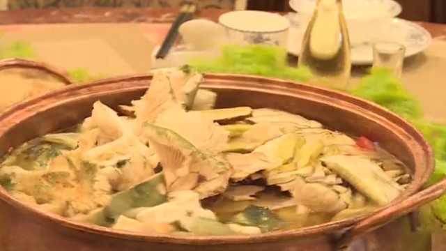 鲜到舔碗!土鸡汤炖野生菌,顾客狂赞