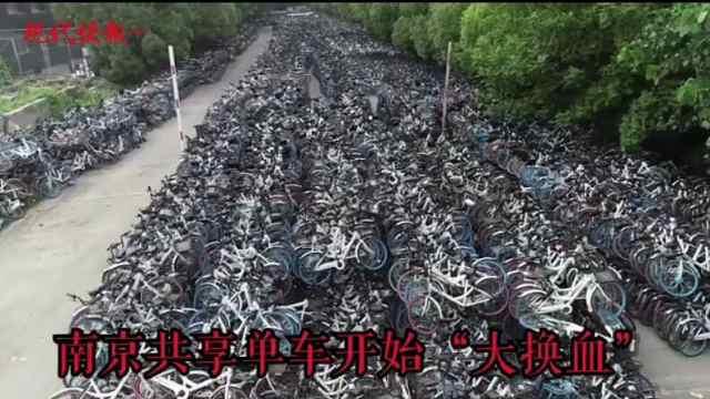 16万辆小黄车将告别南京