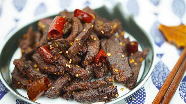 冷吃牛肉最正宗的做法,越嚼越香!
