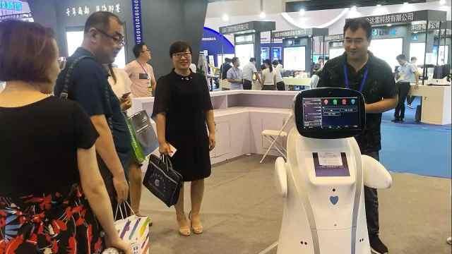 青岛软博会,最聪明机器人都在这